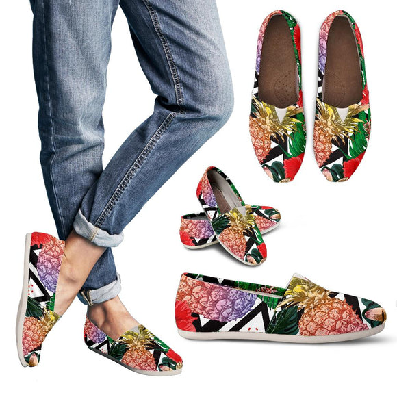 Summer Pineapple Love Women's Casual Shoes