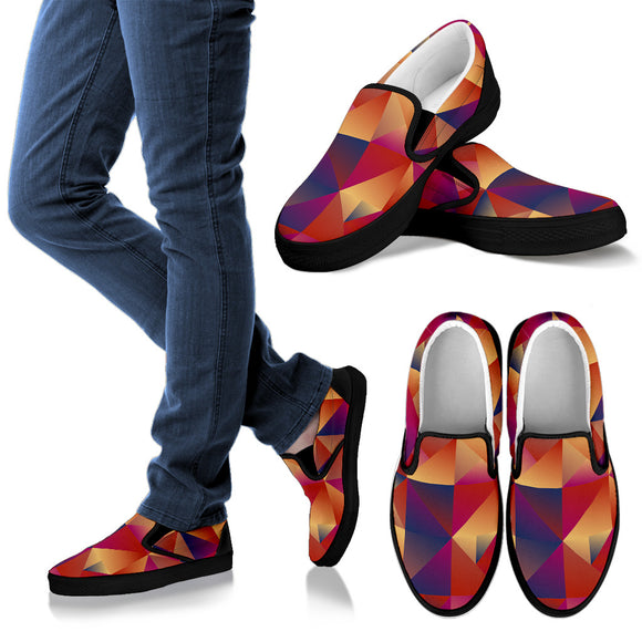 Psychedelic Dream Vol. 3 Women's Slip Ons