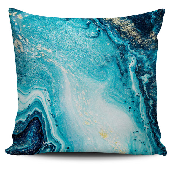 Blue Marble Dream Pillow Cover