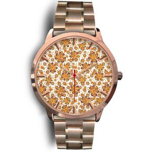 Flowery Rose Gold