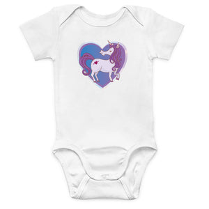 Unicorn Is My Heart Onesie