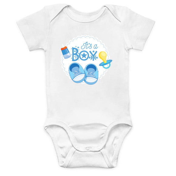 It's A Baby Boy Onesie