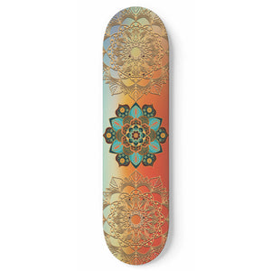 You Are Blessed Skateboard Wall Art