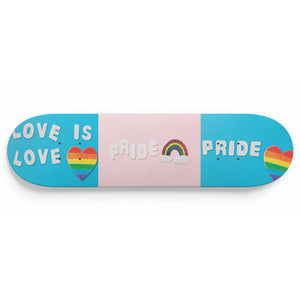 Pride Skateboard Wall Art