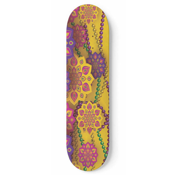 Party Time Skateboard Wall Art