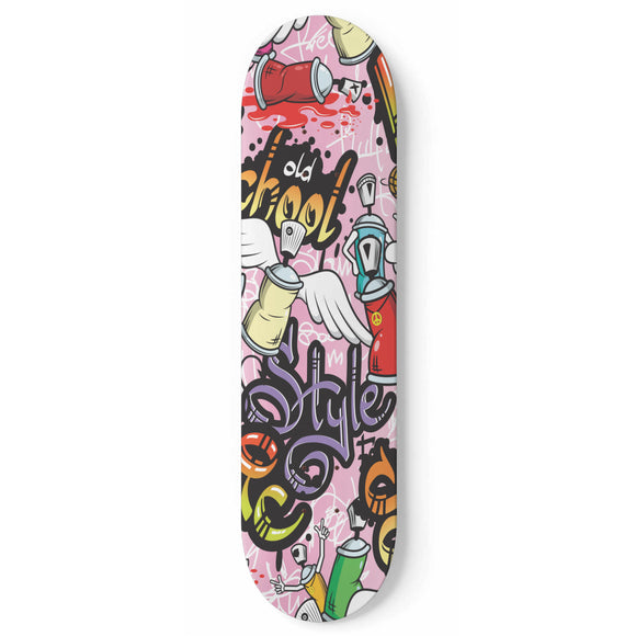 Hip Hop Style Vol. 2 Skateboard Wall Art