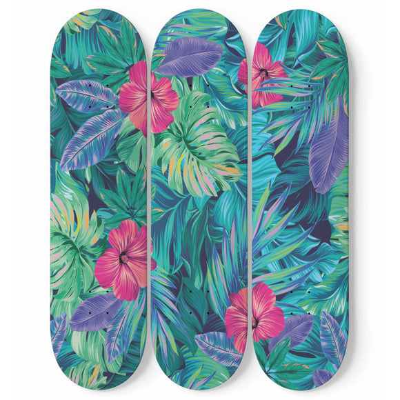 From The Jungle Skateboard Wall Art