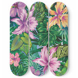 Lovely Orchid Skateboard Wall Art