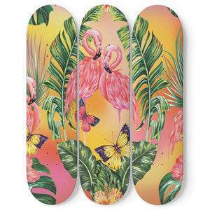 With Love Skateboard Wall Art