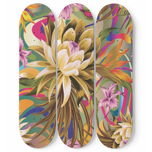 Miracle Skateboard Wall Art
