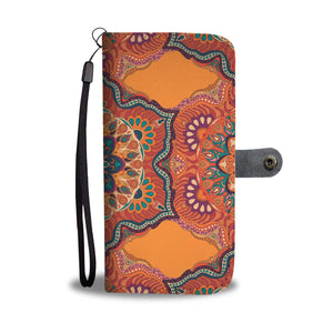 Ornamental Orange Heaven Wallet Phone Case