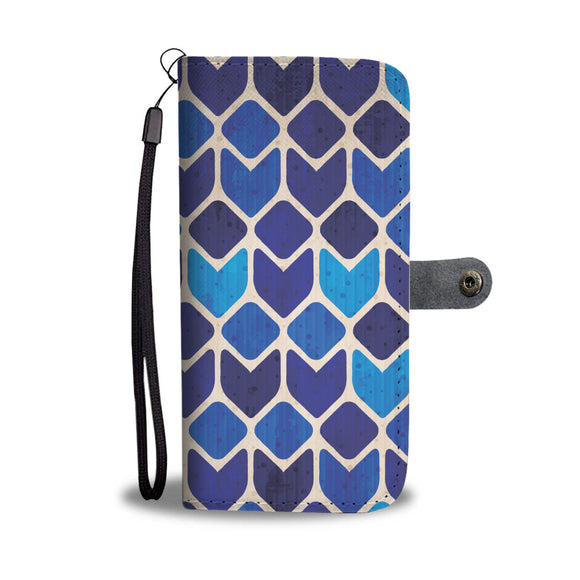 Blue Lagoon Wallet Phone Case