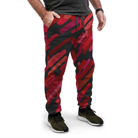 Red Magical Lights AOP Joggers