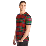 Perfect Classic Tartan Luxury Design Green And Red Street Wear T-shirt