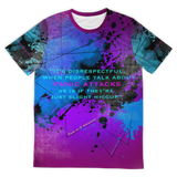It's disrespectful, when people talk about PANIC ATTACKS as if they're just slight hiccup. Fresh Street Wear T-shirt