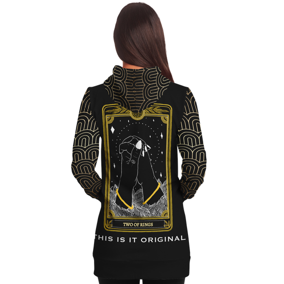 Magic Black & Gold Ornamental Sleeve - Tarot Card