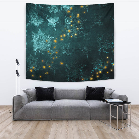 Mystical Stars D2 Wall Tapestry