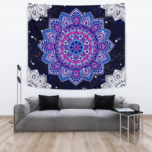 Purple Ibiza Tapestry