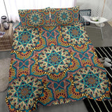 Colorful Ornamental Style Mandala Bedding Set