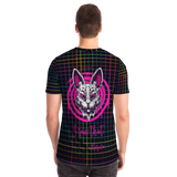 Psycho Rabbit - I Saw That - Karma - Rainbow Geometric Design T-shirt
