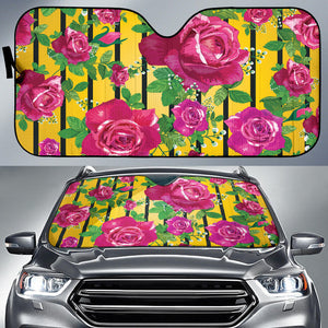 Luxury Rose Auto Sun Shades