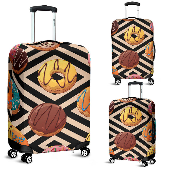Sweet Donuts Luggage Cover