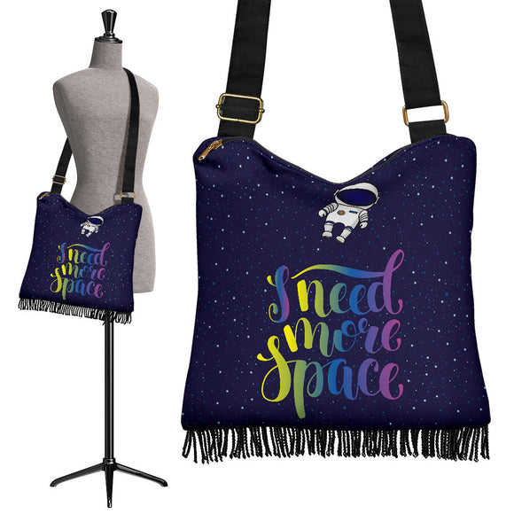 I Need More Space Crossbody Boho Handbag
