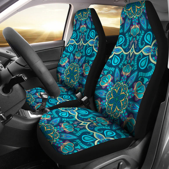 Most Beautiful Mandala Design Four Car Seat Covers
