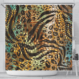 Lovely Natural Shower Curtain
