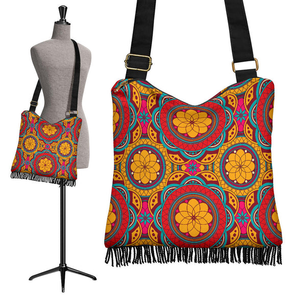 Perfect Oriental Power Crossbody Boho Handbag