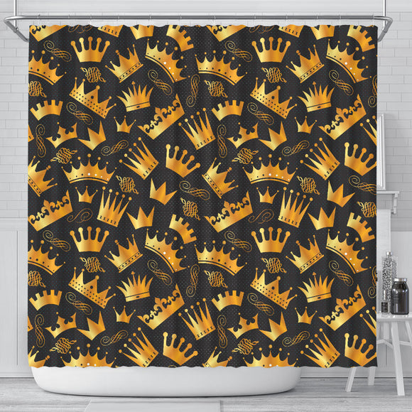 Queen And King Shower Curtain