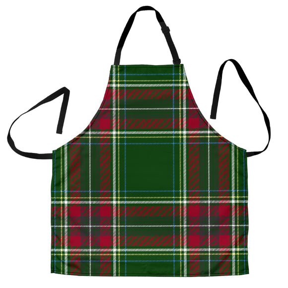 Christmas Green Good Vibes Only Men's Apron