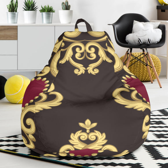 Luxury Royal Hearts Bean Bag Chair