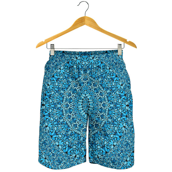 Sky Blue Mandala Men's Shorts