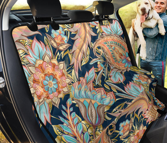 Romantic Paisley Pet Seat Cover