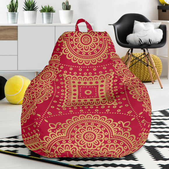 Royal Red Bean Bag Chair