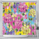Lovely Pink Shower Curtain