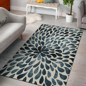 Romantic Tear Drops Area Rug