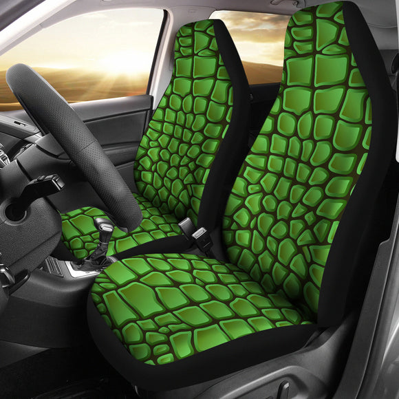 In Love With Crocodile Car Seat Cover