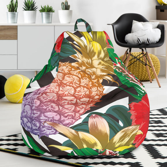 Summer Pineapple Love Bean Bag Chair