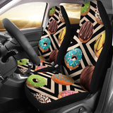 Sweet Donuts Car Seat Cover