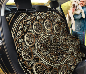 Ornamental Magical Gold Pet Seat Cover