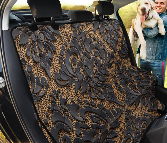Royal Black Pet Seat Cover