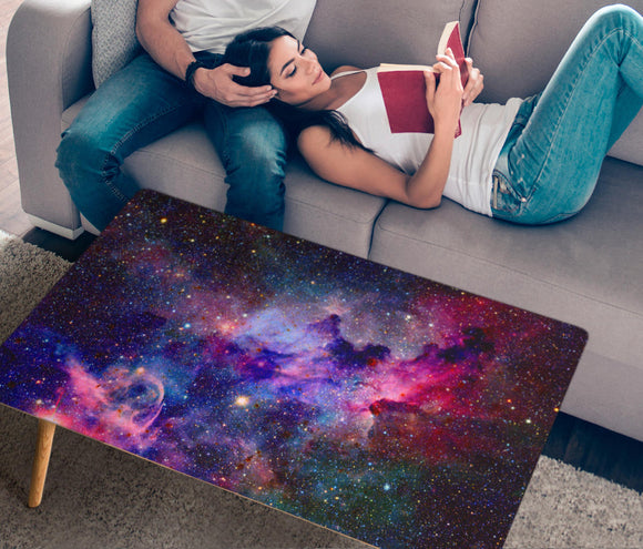 HandCrafted Galaxy Rectangular Coffee Table