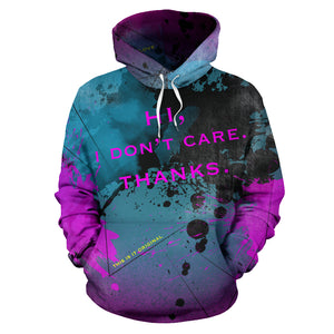 Hi, I don't care. Thanks. Street Wear Hoodie Special Design