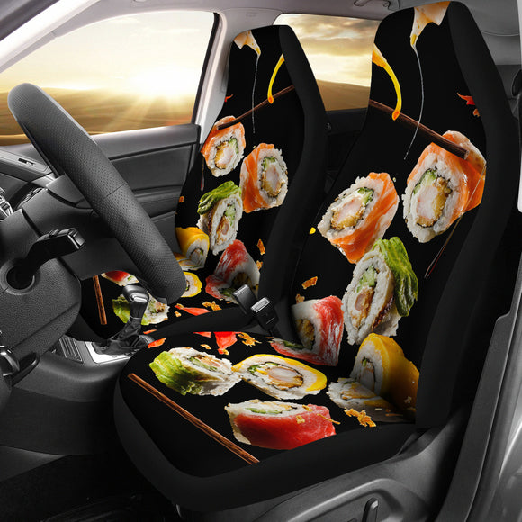 Perfect Sushi Dinner Car Seat Covers
