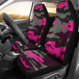 Silver Army Style Car Seat Cover