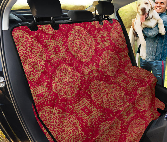 Royal Red Pet Seat Cover