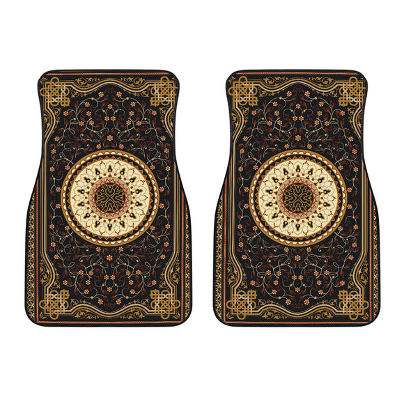 Luxury Oriental Mandala Carpet 18 Front Car Mats