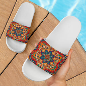 Ornamental Orange Heaven Slide Sandals